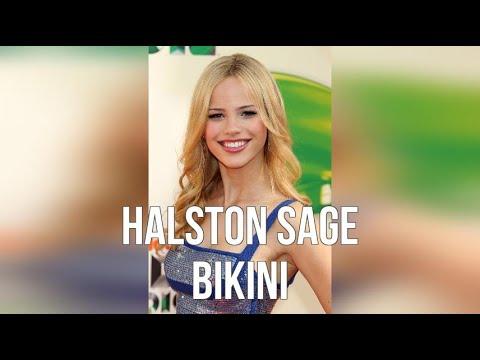 Halston Sage Bikini