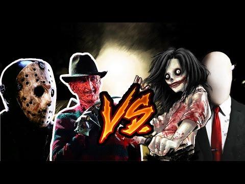 Freddy fazbear vs slenderman combates mortales de rap jay f