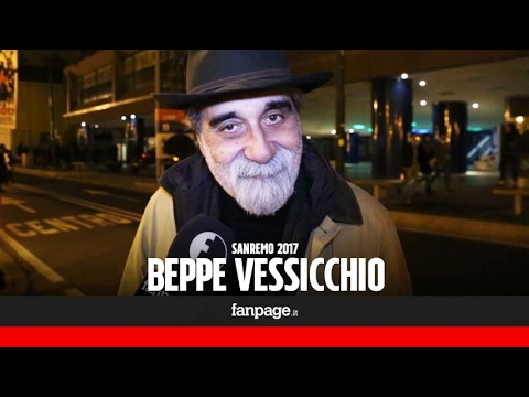 Sanremo 2017, Vessicchio: