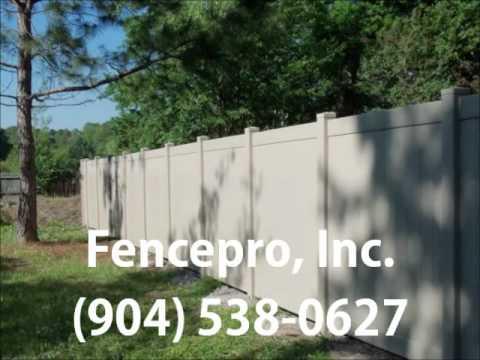 Fencepro Inc Fences Jacksonville FL