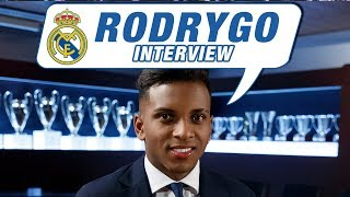 """Rodrygo EXCLUSIVE interview: """"I'm here to score goals and bring real joy to Real Madrid"""""""