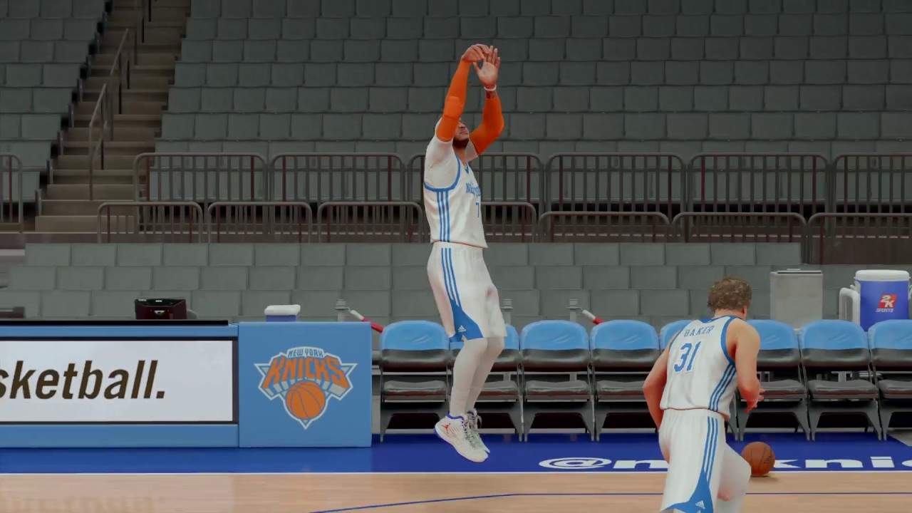 NBA 2K17 Carmelo Anthony Jump shot fix - YouTube