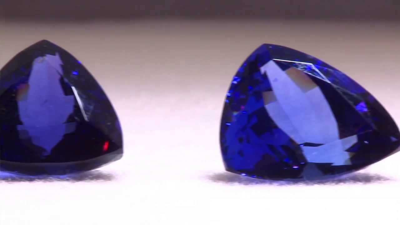 faceted block crt gemstone d natural color auctions top tanzanite