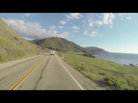 Moto trip from Mountain View to Los Angeles, California