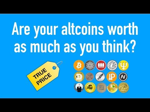 Your ALTCOINS May Not Be Worth That Much... Liquidity Explained!