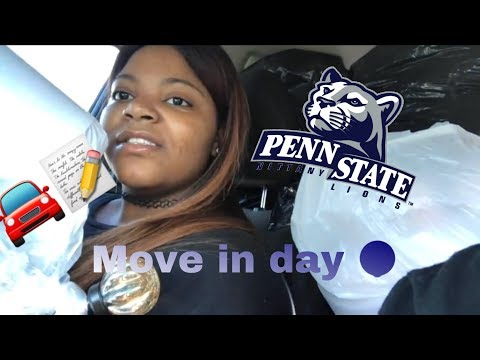 Penn State Harrisburg Move In Day!+ Dorm Tour!!