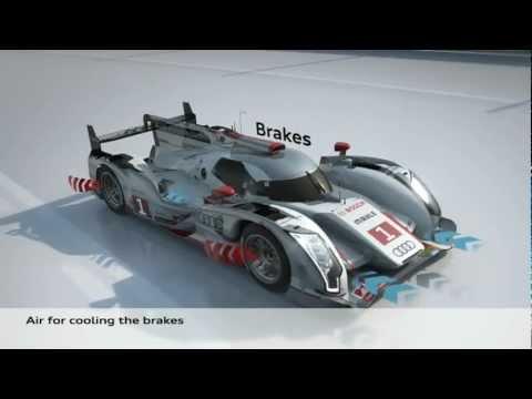 How It Works: Audi R18 e-tron Quattro Hybrid -  animation