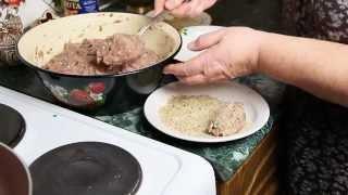 Очень вкусные котлеты - Рецепт Свинина + Курица