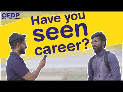 Have You Seen Career | Funny Reactions of Thanekars | CEDP Skill Institute