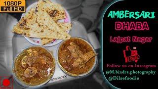 Ambarsari Dhaba | Egg Curry | Keema Mutton | Chicken Biryani |Defence Colony