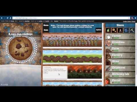 Cookie Clicker Easy Hack - Get Over 1,000,000 Cookies Per Second