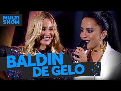 Baldin de Gelo  Claudia Leitte + Anitta  Música Boa Ao Vivo  Música Multishow