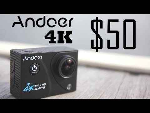 Andoer 4K Action Cam REVIEW - $50 Action camera any Good?