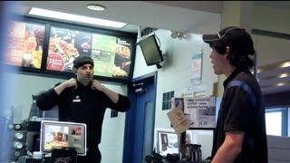 Pretending To Be a McDonalds Employee PRANK
