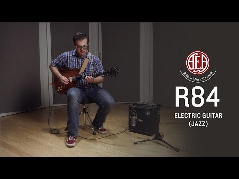 AEA R84 - Electric Guitar (jazz) - Listening Library