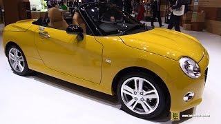 2016 Daihatsu Copen Cero - Exterior and Interior Walkaround - 2015 Tokyo Motor Show