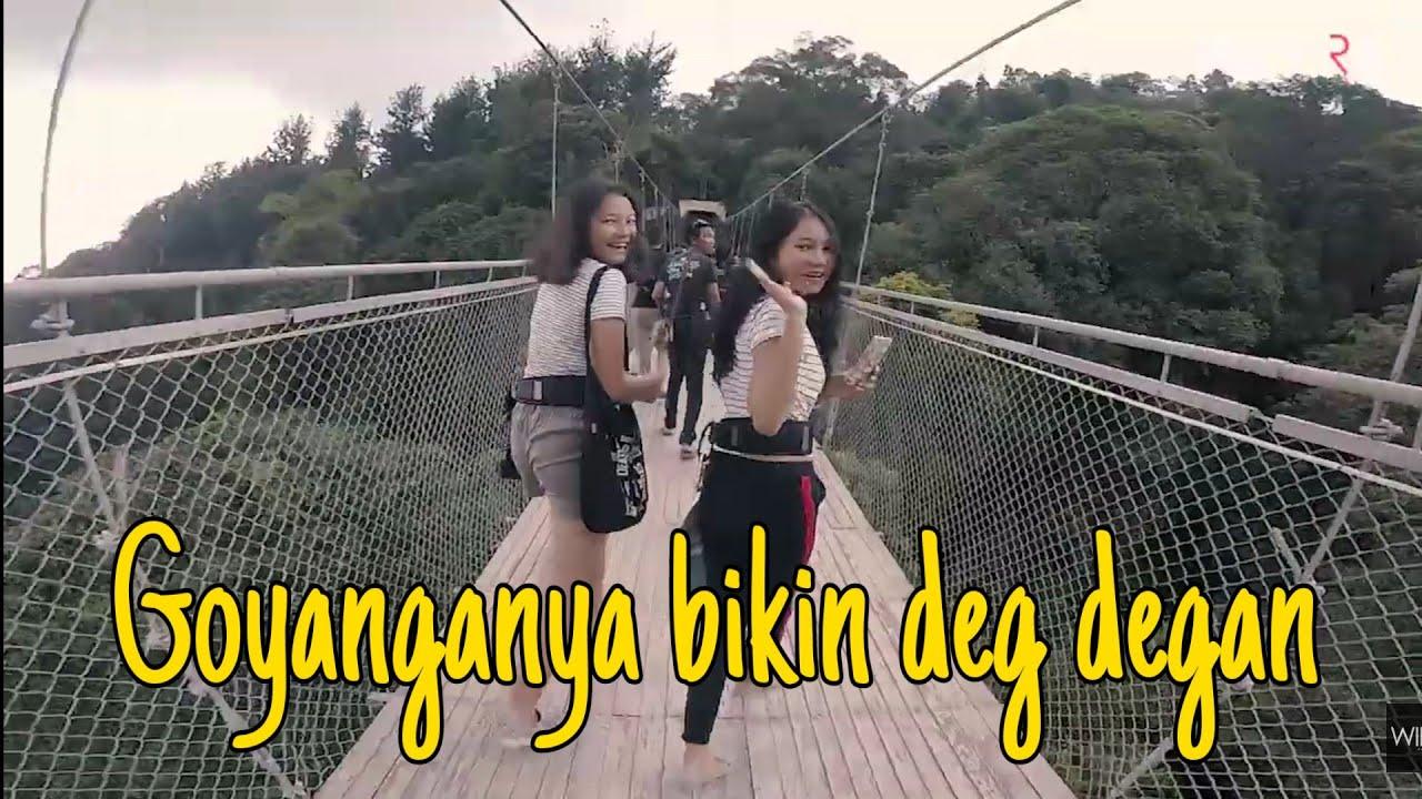 Jembatan gantung Situ Gunung tertinggi dan terpanjang di Indonesia Objek Wisata Instagramable