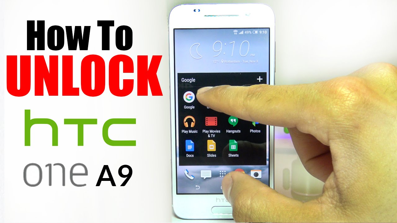 How to unlock htc 2