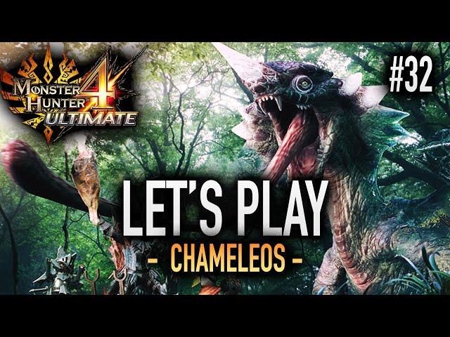 LE CHAMELEOS SE DÉVOILE - #32 Let's Play MH4U HD