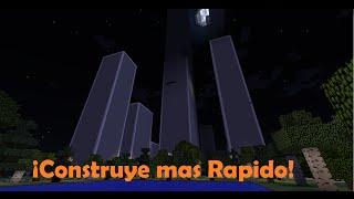 Minecraft|Comando para Construir mas Rápido!!!! Bien Explicado.