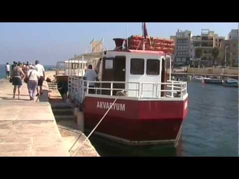 "The Beautiful Islands of Malta: ""St Paul's Bay"" ""Glass Bottomed Boat"" Safari"