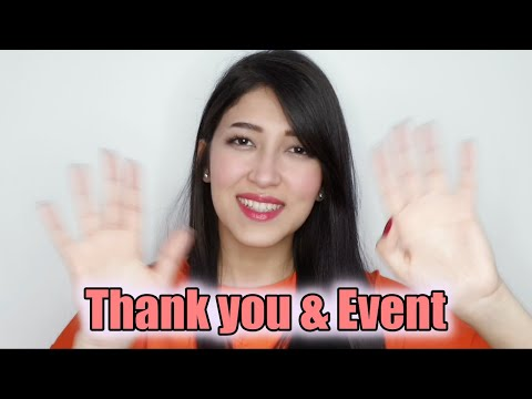 Mooni giveaway جوائز موني / Thanks Video / Giveaway / Follower Event / 사랑해주셔서 감사합니다
