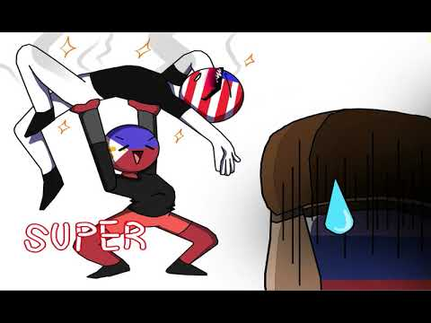 1k Special // Crush - Meme (America and Russia) - countryhumans