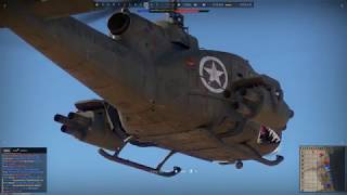 War Thunder: First helicopter guided missile kills