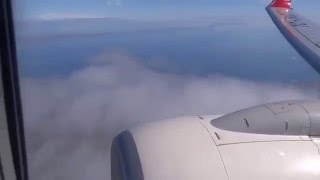 turkish airlines edinburgh to istanbul with a boeing 737 900ER economy class