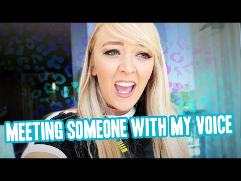 MEETING SOMEONE WITH MY VOICE