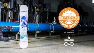 CAPiTA Space Metal Fantasy Review: Women's Park Winner – Good Wood Snowboard Test 2018-2019