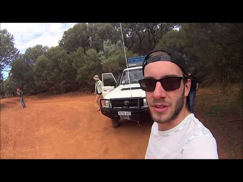 Australie 2016 Canning stock Route in Rental Toyota