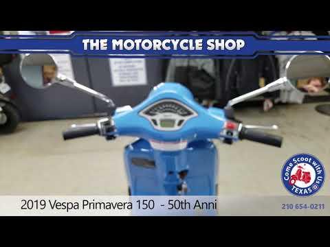 New 2019 Vespa Primavera 150 Motor Scooter