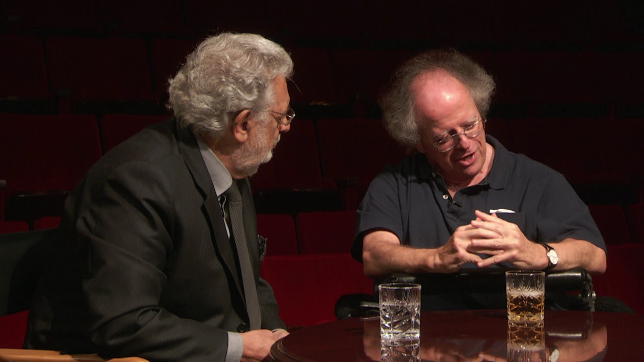 James Levine, Plácido Domingo, and Peter Gelb in Conversation