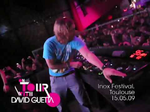 On Tour with David Guetta — 15.05.09 — Inox Festival — Toulouse
