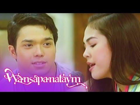 Wansapanataym: Mau smiles as Holly sings