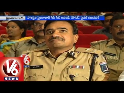 Hyderabad police held a meet with Merchants near commissionarate