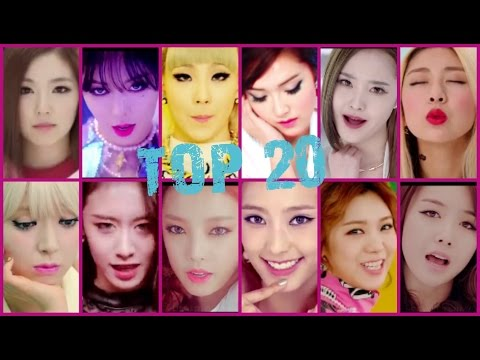 [TOP 21] K-POP Songs of 2014 (OFFICIAL) Girl Groups Only(HD)