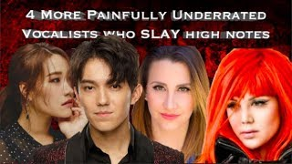 4 MORE Painfully Underrated Vocalists who SLAY High Notes!