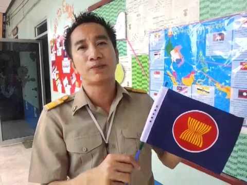 ครูจิมสาธิตการสอน ASEAN
