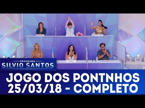 Jogo dos Pontinhos - Completo | Programa Silvio Santos (25/03/18)