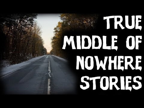 TERRIFYING TRUE Middle Of Nowhere Horror Stories! |Told In Rain (Scary Stories)