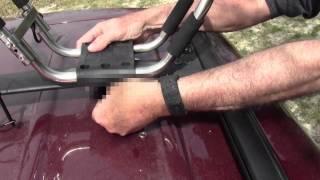 Kayak Folding Car Top Rack (inexpensive)