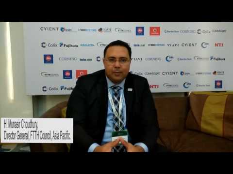 DG of FTTH Council Asia Pacific interviewed by Telecom Lead at the FTTH APAC Conference 2017