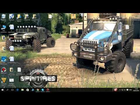 SpinTires бесплатно скачать пиратка и как установить!!!