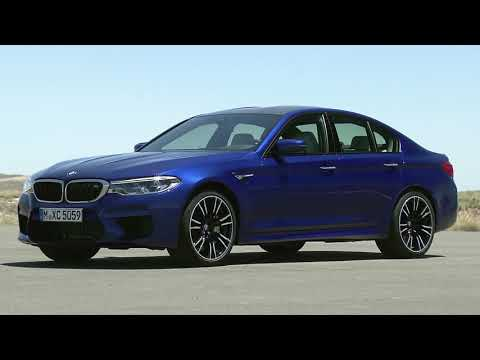 New 2018 BMW M5 - Exterior Design