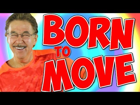 Born to Move | Fun Movement Song for Kids | Brain Breaks | Jack Hartmann
