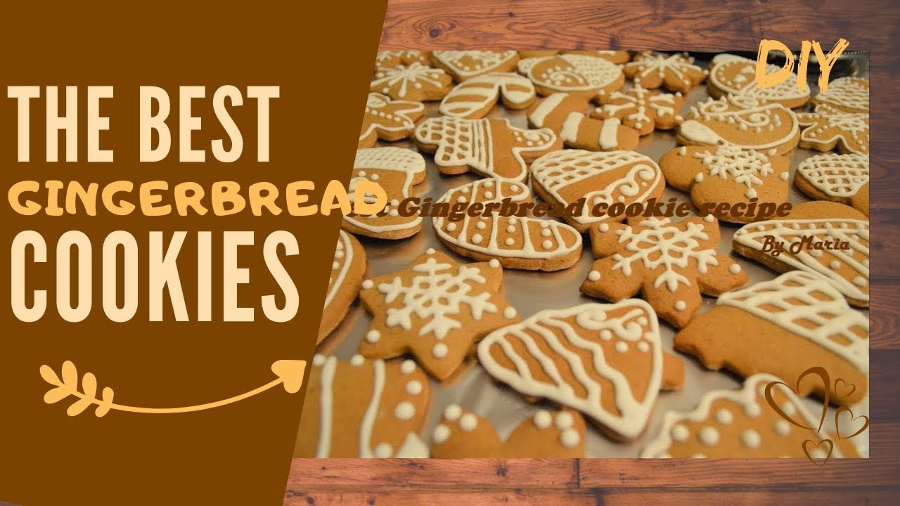 The Best Gingerbread Cookie Recipe Ever Homemade Christmas Cookies