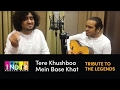 tere khushboo mein base khat tribute to the legends part 4 jagjit singh aabhas shreyas
