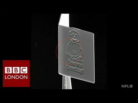 The world's smallest Christmas card – BBC London News